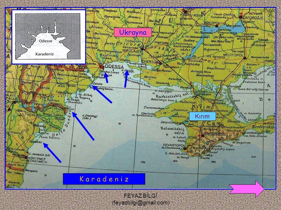 FEYAZ BİLGİ (feyazbilgi@gmail.com) 5- Limanlı kıyı : Kıyı oklarının koyların önünü kapatmasıyla oluşan doğal limanların bulunduğu kıyılara denir. Örne