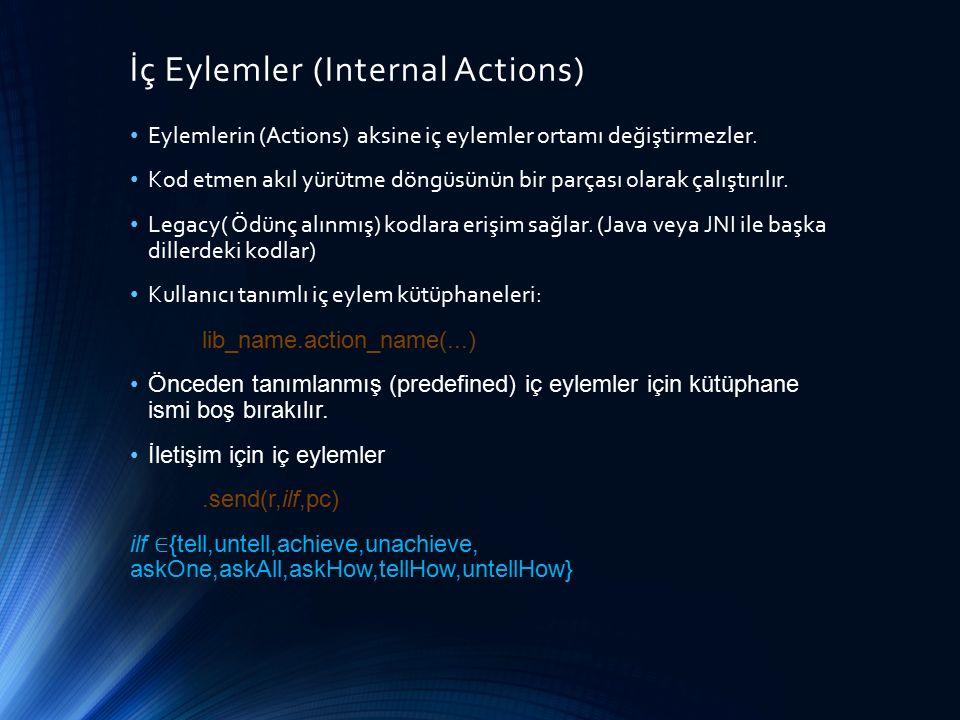İç Eylemler (Internal Actions)