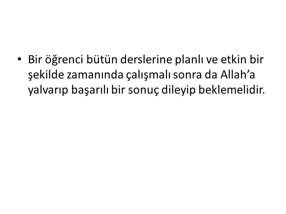 Bu konu ile ilgili olarak Kur'an'da şöyle buyrulmaktadır: ...Kararını verdiğin zamanda artık Allah'a dayanıp güven.