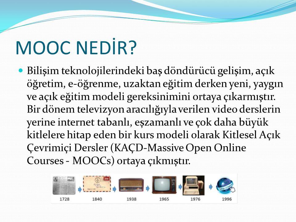 MOOC NEDİR.