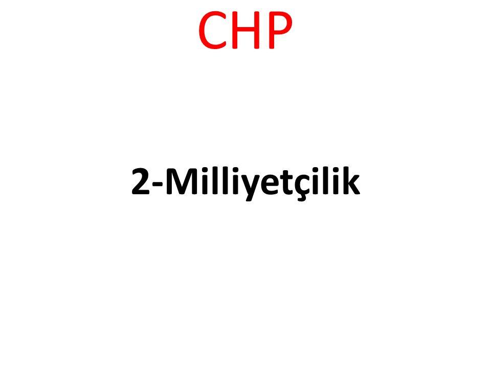CHP -Partimiz,Erozyonla mücadelede, Sivil toplum Kuruluşlarından katkısından yaralanmayı öngörür