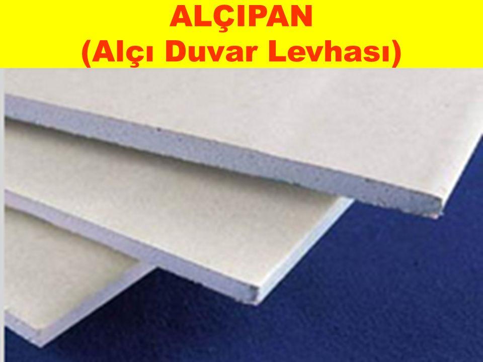 ALÇIPAN (Alçı Duvar Levhası)
