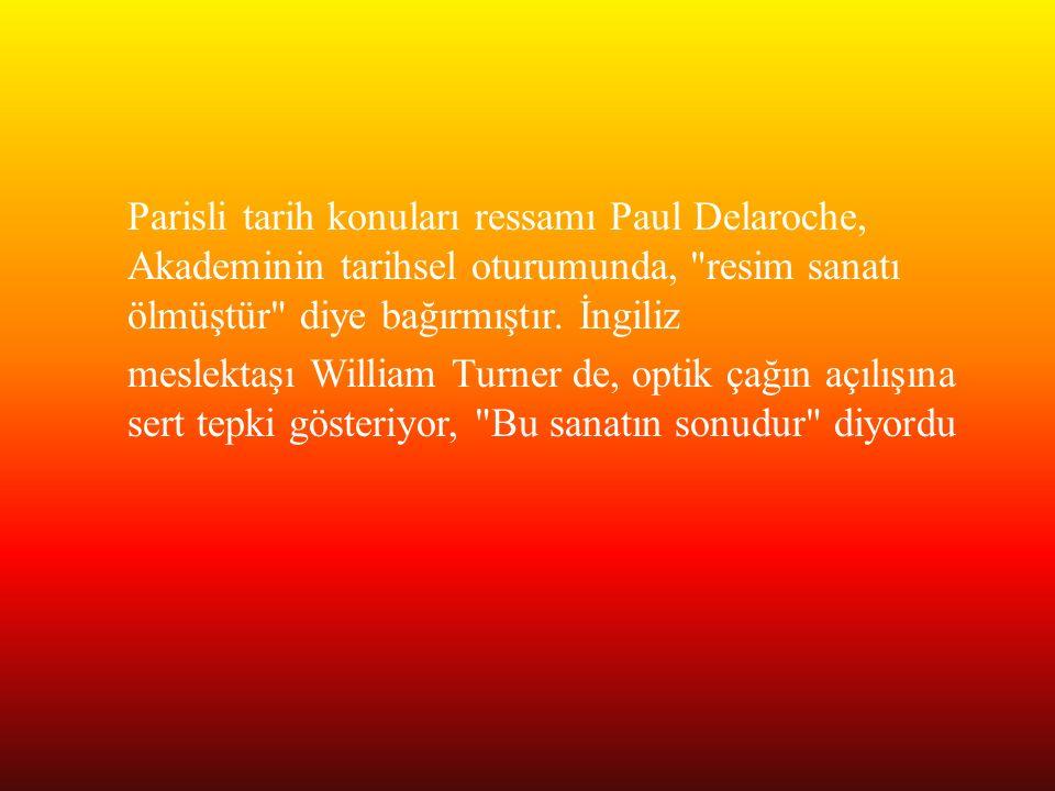 Parisli tarih konuları ressamı Paul Delaroche, Akademinin tarihsel oturumunda,