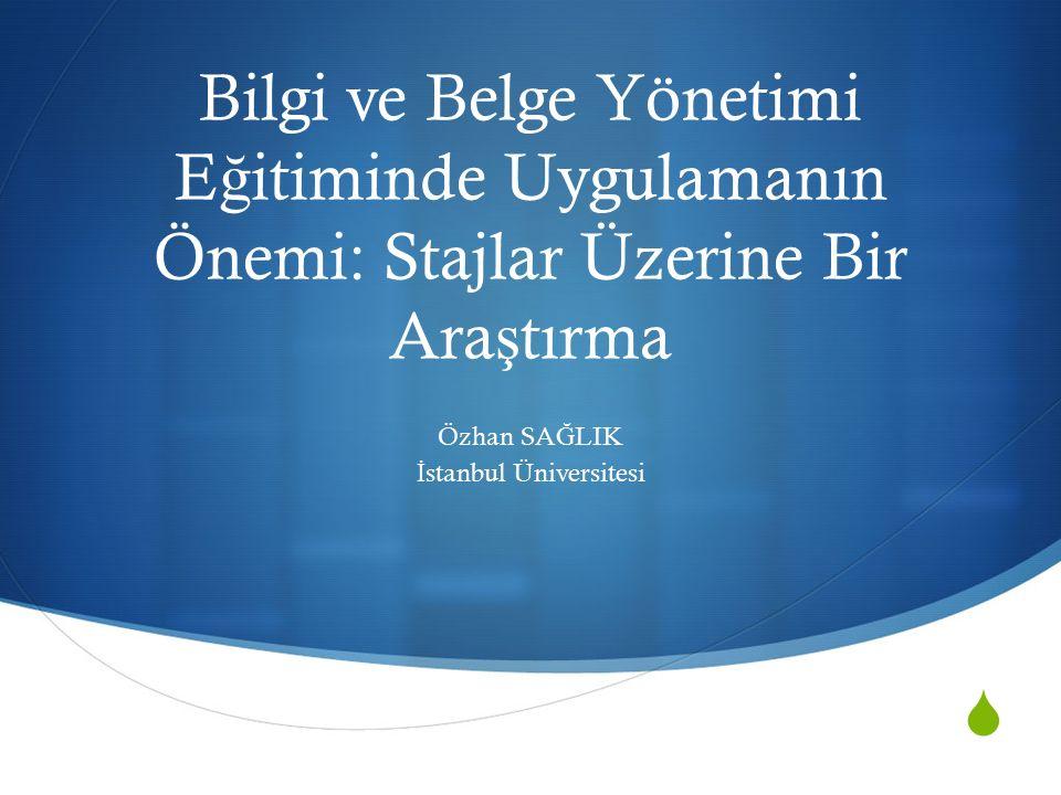  Türk Dil Kurumu (TDK) Sözlü ğ ünde staj; bir kimsenin meslek bilgisini artırmak için bir kurumun bir veya birçok bölümünde çalı ş arak geçirdi ğ i dönem olarak tanımlanmaktadır.