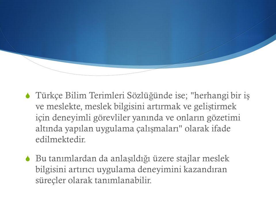  Türkçe Bilim Terimleri Sözlü ğ ünde ise;