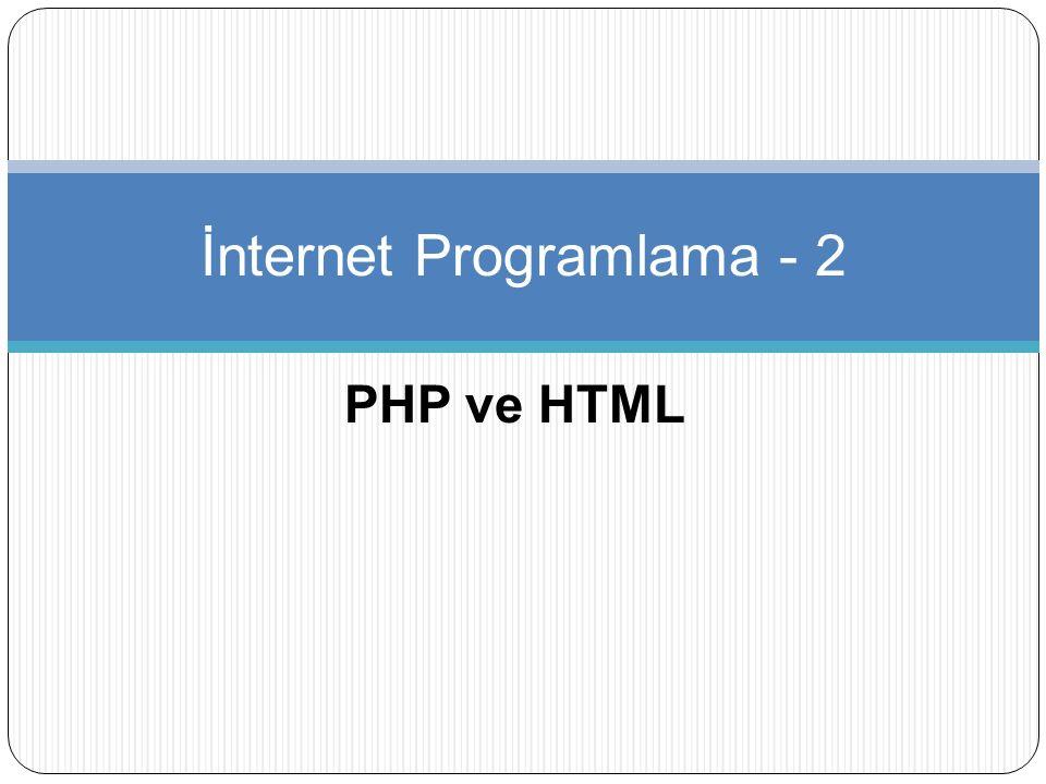Koşullu İfadeler ve Döngüler Döngü ya da çevirim diyebileceğimiz, belli şart ve koşullarda istenilen değerleri yapabilmemizi sağlayan fonksiyonlar her programlama dilinde olduğu gibi PHP dilinde de çok önemli bir yer tutar.