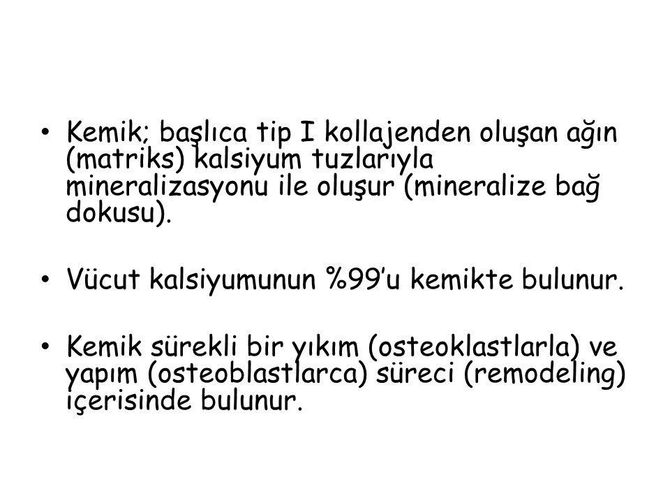 Primer Hiperparatiroidi Hiperkalsemi vardır ancak PTH süprese olmuş değildir.