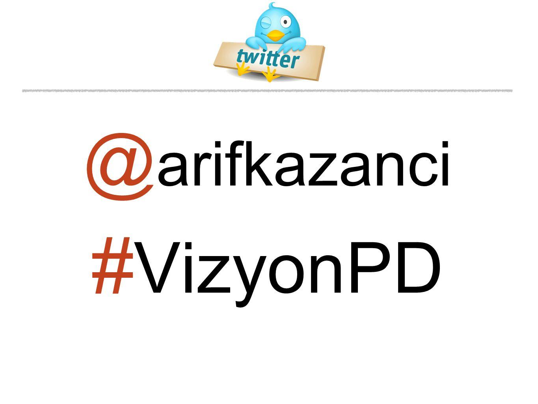 # VizyonPD @ arifkazanci