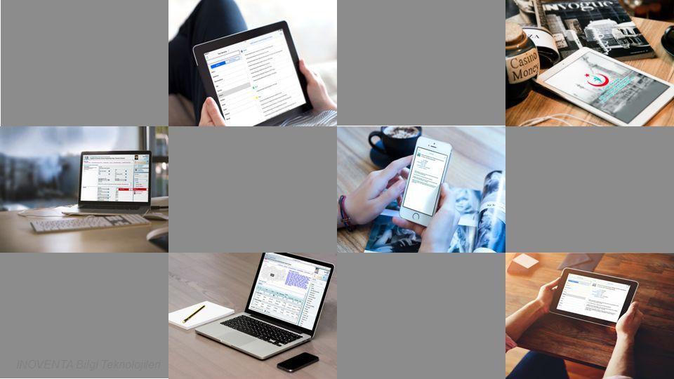 Paylaşılan ekran görüntüleri temsilidir. INOVENTA Bilgi Teknolojileri