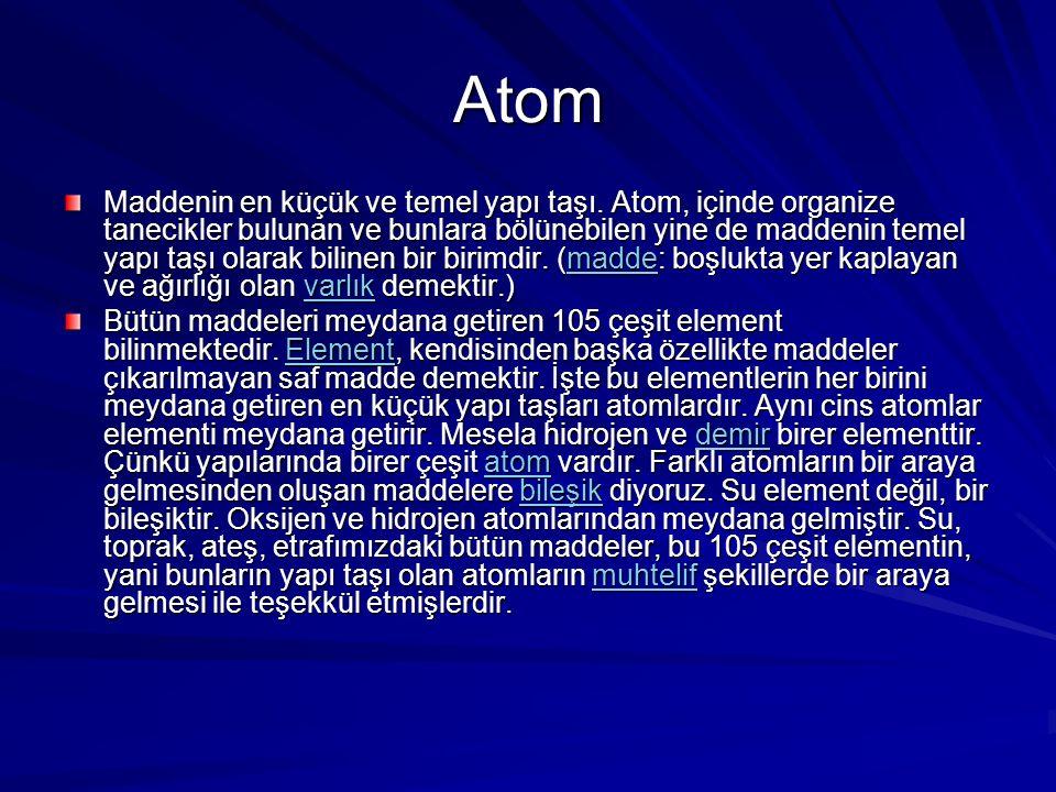 Atomdan Hayata Hazırlayan:Kaan YAVUZ Proje:GEBİYEPModül:Genetik