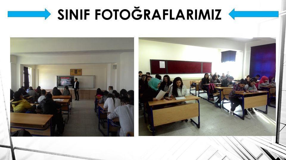 SINIF FOTOĞRAFLARIMIZ