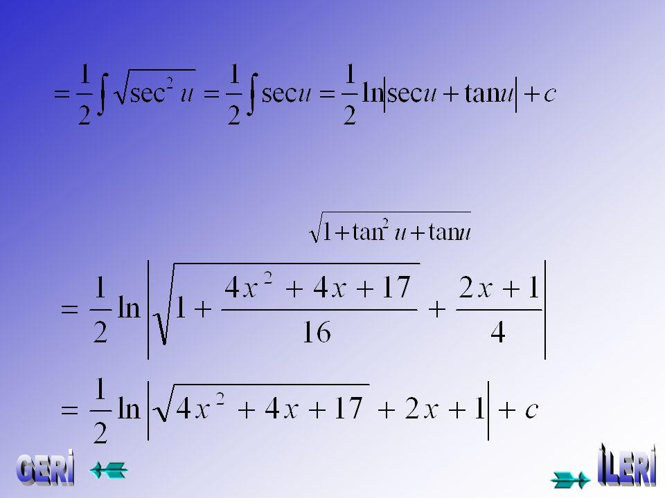 =(2x+1) 2 +4 2 DEVAMI