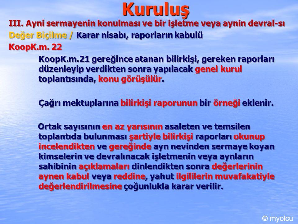 Kuruluş III.
