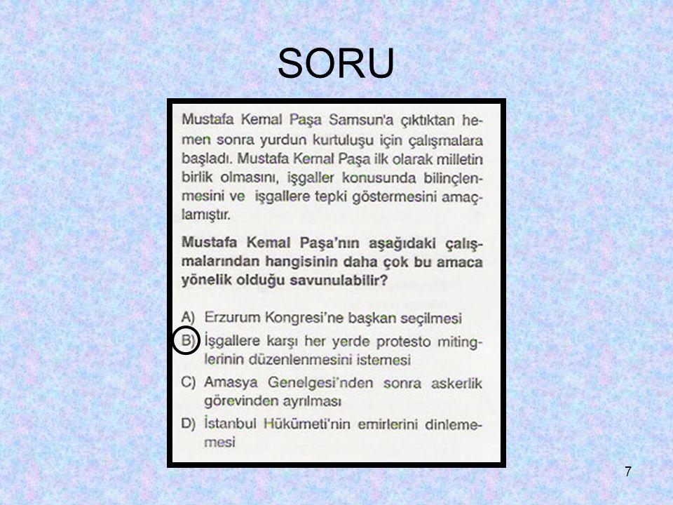 7 SORU