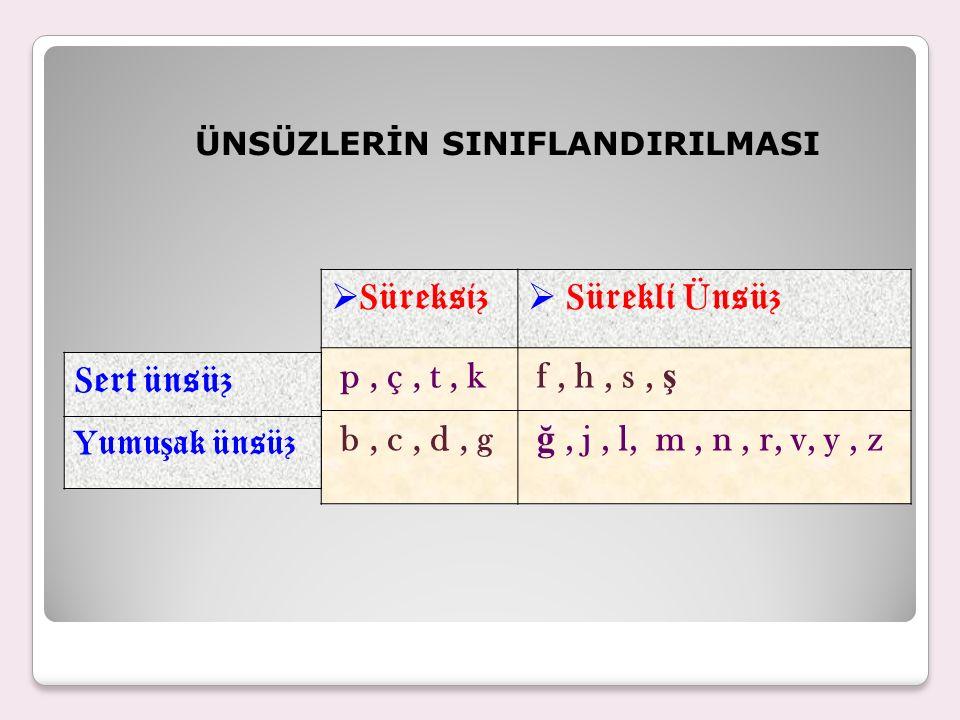 Geniş yuvarlak ünlüler olan o,ö Türkçe sözcüklerde sadece birinci hecede bulunur.