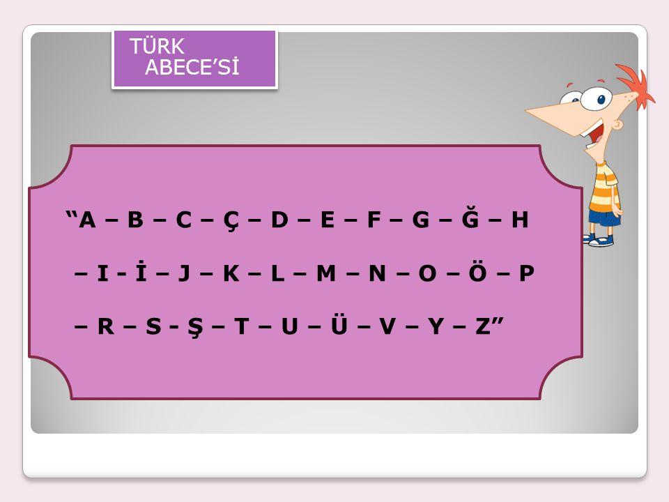 Alfabemizde harf olarak karşılığı bulunmayan sesler şunlardır: Nazal n (ñ) Hırıltılı h (h) Çift Dudak v'si (w) Kapalı e (é) İnce g,k,l ile kalın g,k,l ların ayrılması Türkçe'de yaklaşık olarak 40 ses bulunmaktadır.