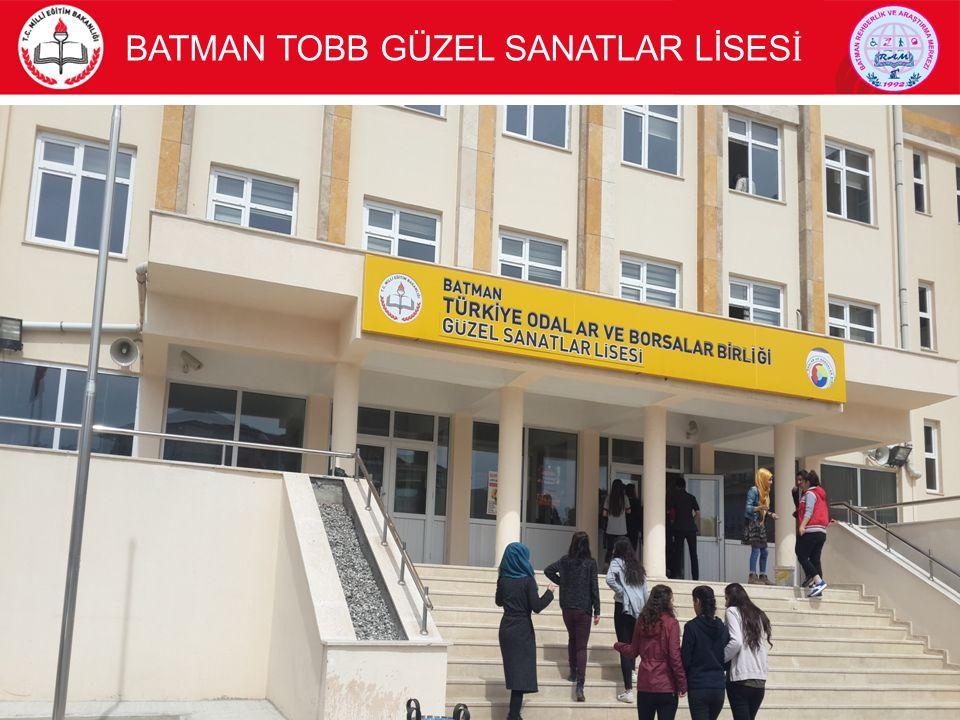 BATMAN TOBB GÜZEL SANATLAR LİSES İ 2
