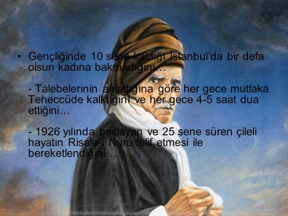 1922 yılında Ankara'ya geldiğini ve Millet Meclisinin kendisini resmi tören ile karşıladığını… - Ankara'da Mustafa Kemal ile görüştüğünü… - Mecliste yaptığı konuşmadan sonra 60 milletvekilinin Namaza başladığını…