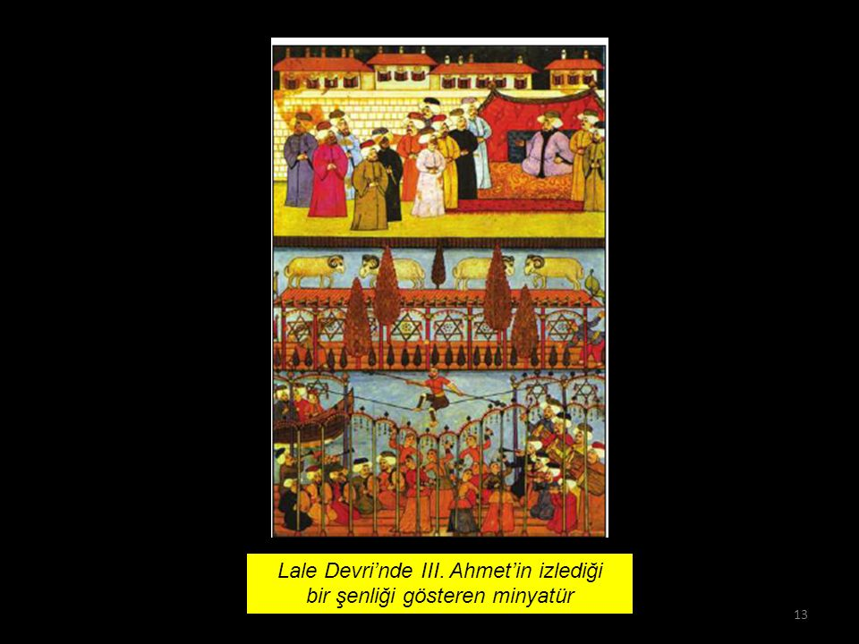Osmanlı Devleti'nde, I. Veraset sisteminde değişiklik yapılarak hanedanın en yaşlı üyesinin hükümdar olması II. Avrupa'ya öğrenci gönderilmesi III. Av