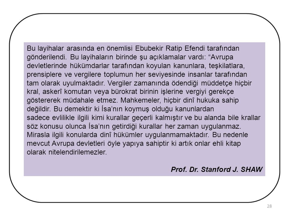 DEVLETİN KURTULUŞ REÇETESİ LAYİHALAR (RAPORLAR) III. Selim, Osmanlı Devlet kurumlarını modernleştirmek amacıyla Avrupalıların modern kurumları ve uygu