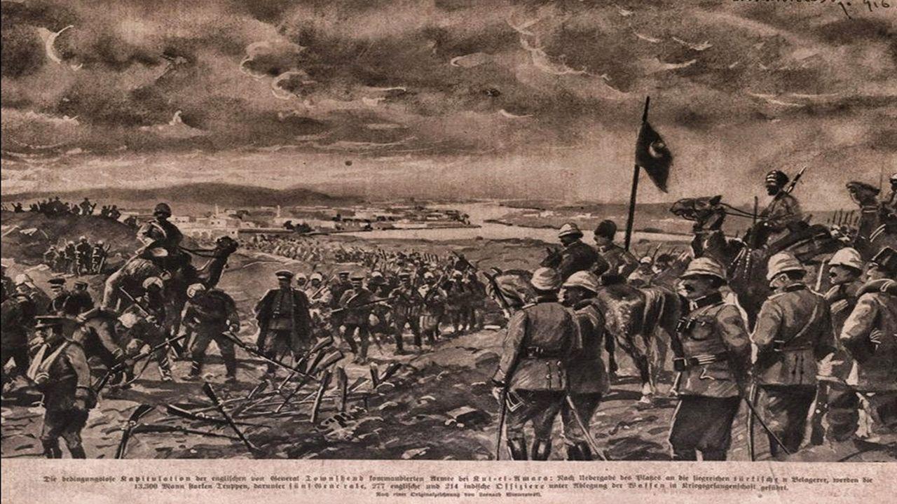 KUTUL AMARE NEDİR.Tarih 29 Nisan 1916'dır.