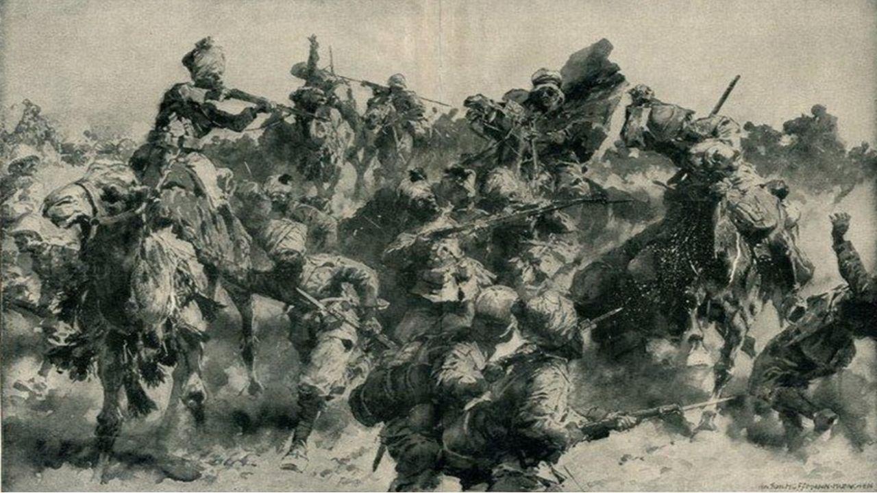 10 BİN ŞEHİT VERDİK İngiliz birlikleri ellerindeki topları imha ettikten sonra 13 general, 481 i subay olmak üzere 13 bin 300 kişilik mevcuduyla kayıtsız ve şartsız olarak Türk kuvvetlerine teslim oldular.