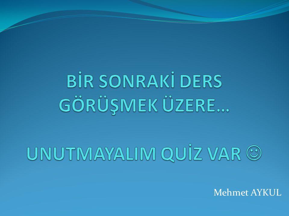 Mehmet AYKUL