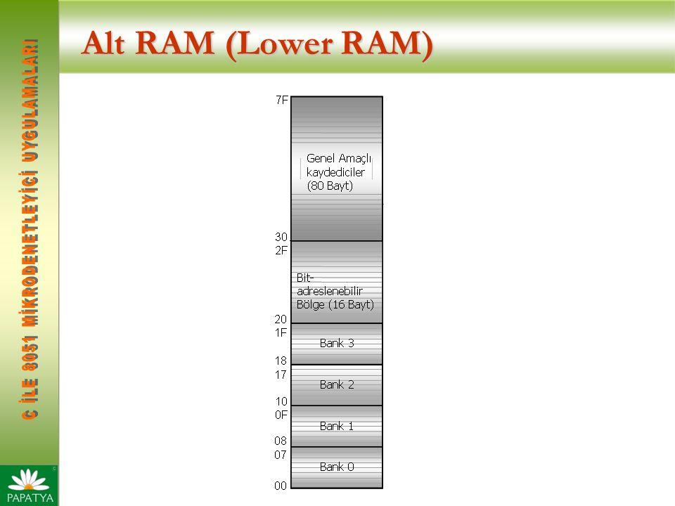 Alt RAM (Lower RAM)