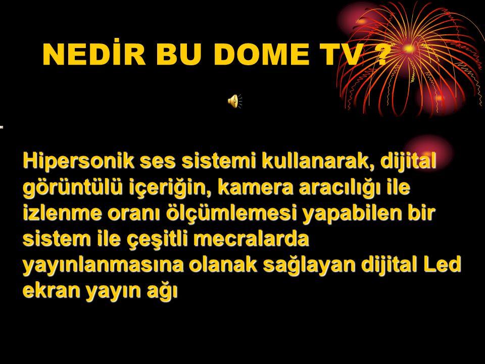 NEDİR BU DOME TV .