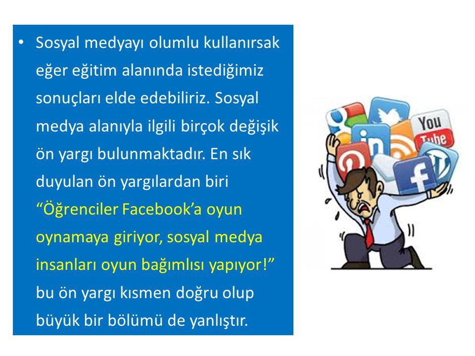 Eğitimciler gençler arasında kullanımı çok yaygın olan sosyal medyadan eğitimde nasıl yararlanılabileceğini tartışıyor.