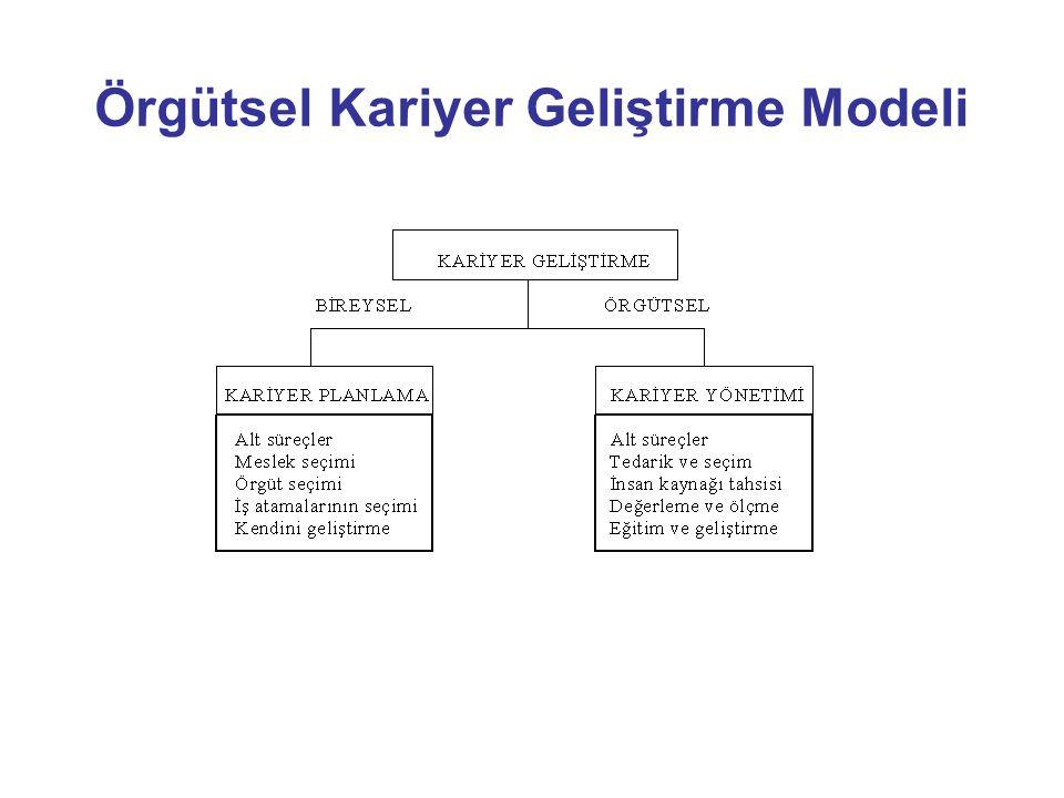 Örgütsel Kariyer Geliştirme Modeli