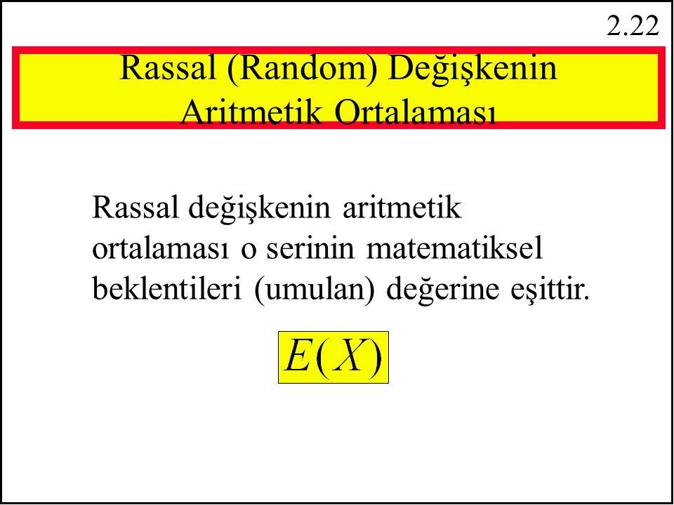 2.21 Özellik 6:   f(x i ) = f(x 1 ) + f(x 2 ) +...