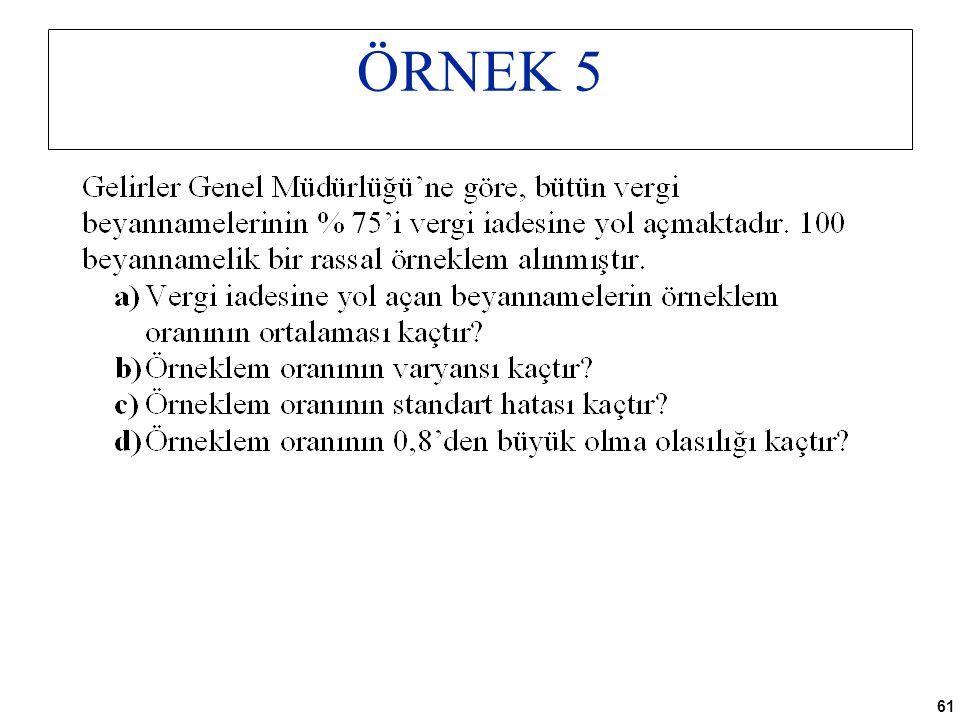 61 ÖRNEK 5