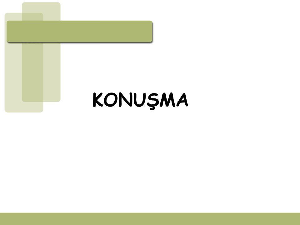 KONUŞMA