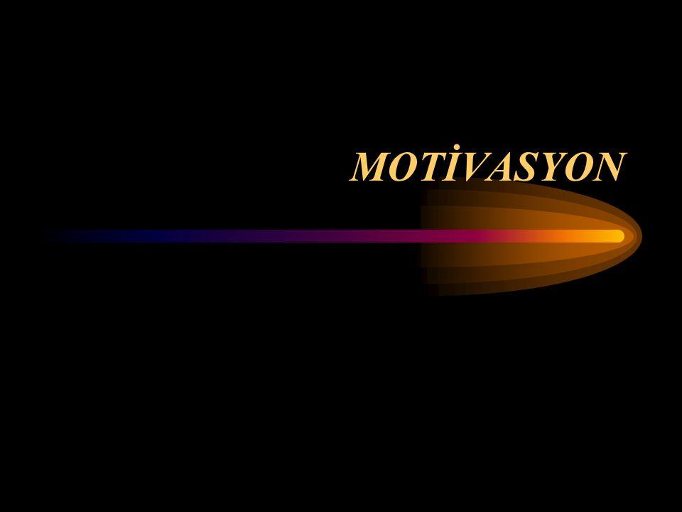 Aslında motivasyon kavramı hiç de öyle gizemli bir şey değildir.