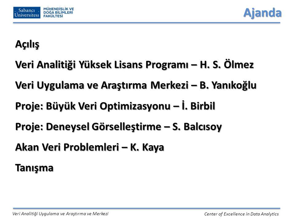 1.Farklı kanallardan gelen verinin tensörler ile ifade edilmesi Ermis vd. 2012