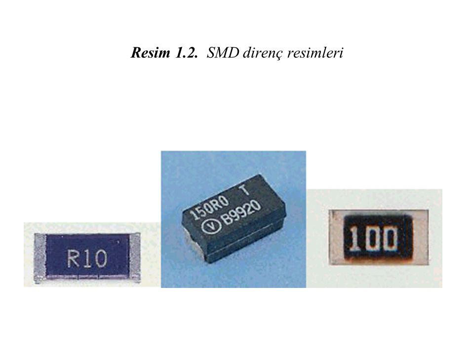 Resim 1.2. SMD direnç resimleri