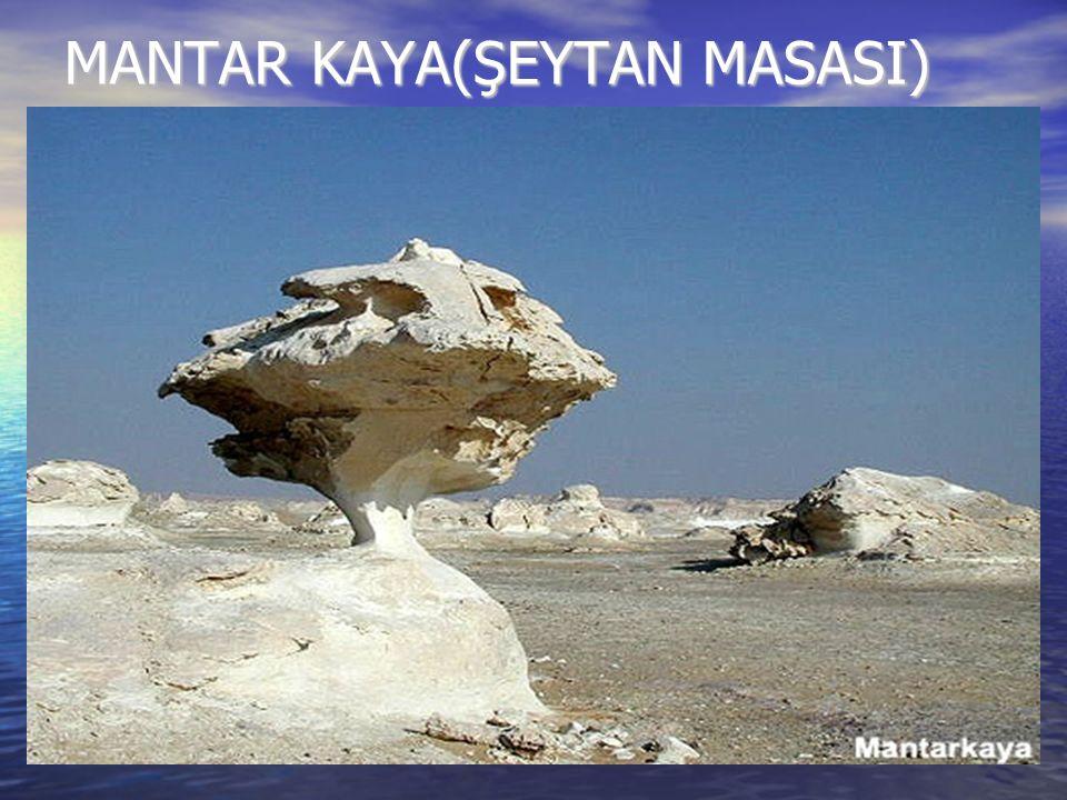 MANTAR KAYA(ŞEYTAN MASASI)