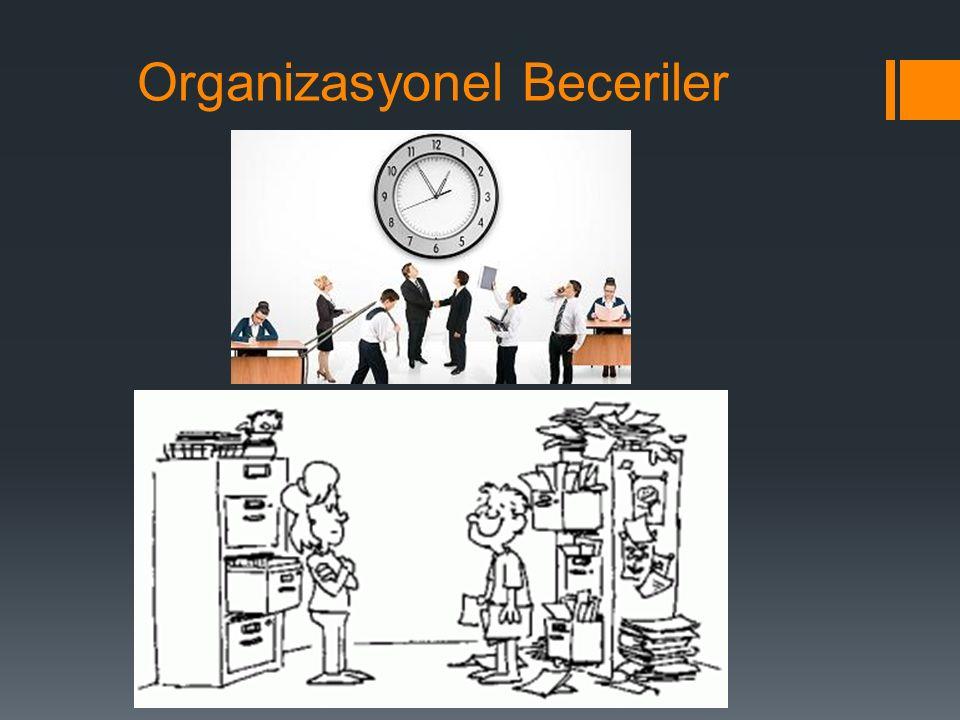 Organizasyonel Beceriler