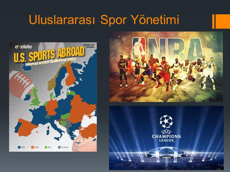 Uluslararası Spor Yönetimi