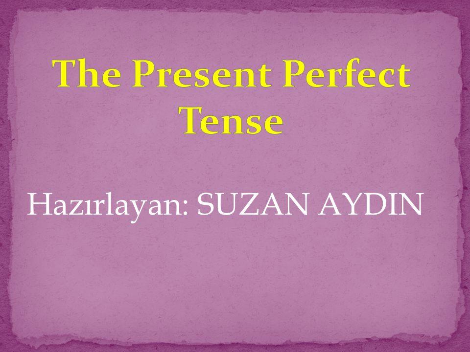 Hazırlayan: SUZAN AYDIN