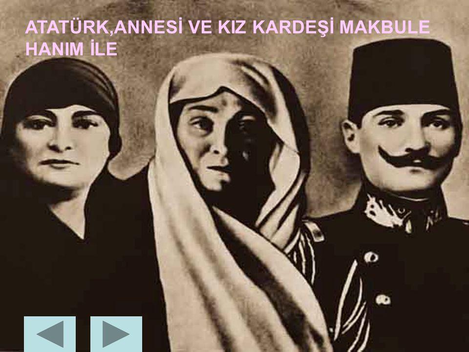 ATATÜRK'ÜN ANNESİ VE BABASI ZÜBEYDE HANIM ALİ RIZA BEY