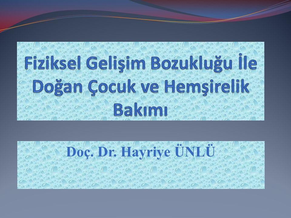Doç. Dr. Hayriye ÜNLÜ