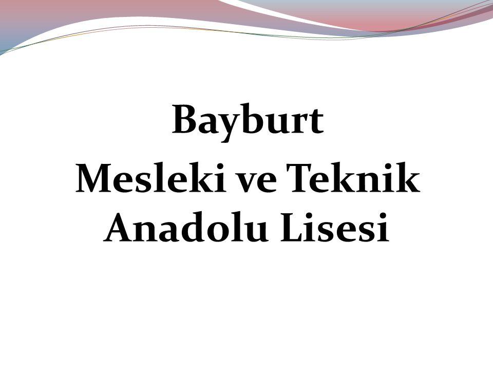 Bayburt Mesleki ve Teknik Anadolu Lisesi