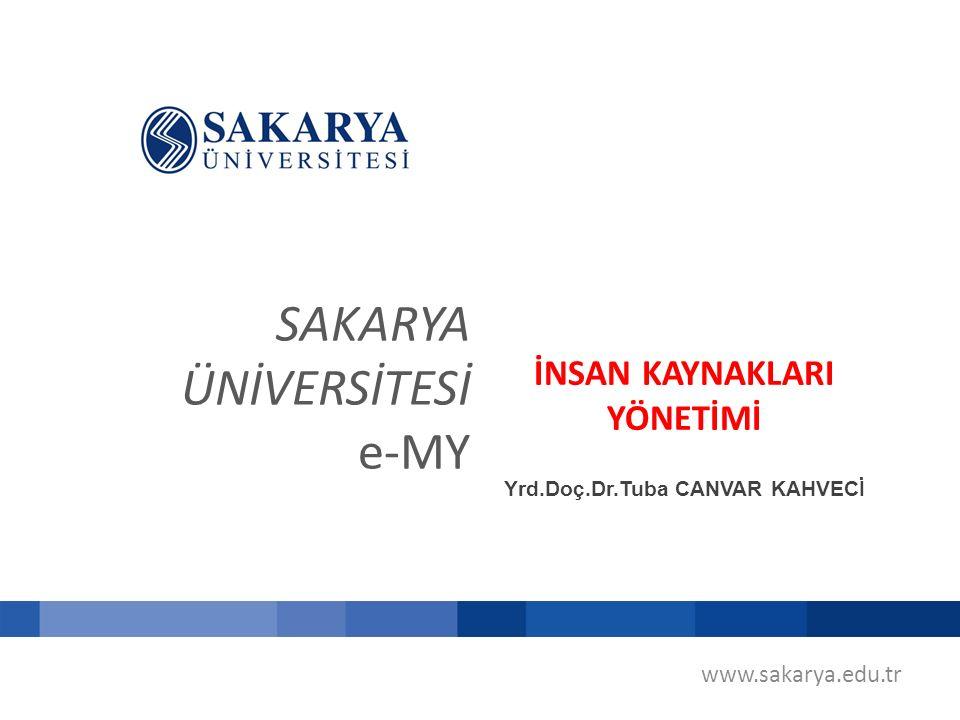 www.sakarya.edu.tr PD SONUÇLARININ KULLANILMASI 2.