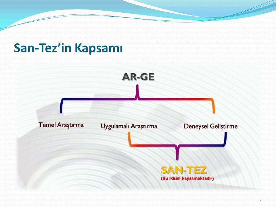 San-Tez'in Kapsamı 4
