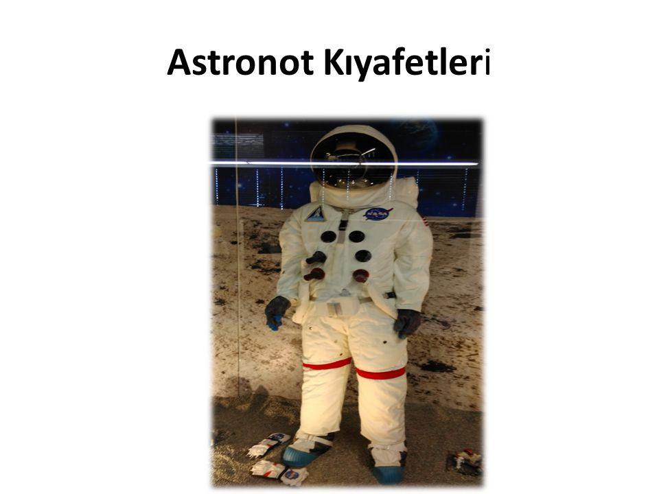 Bir astronot kıyafeti ortalama yirmi bin dolardır.