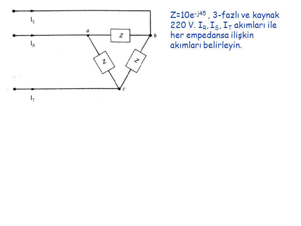 ISIS IRIR ITIT Z=10e -j45, 3-fazlı ve kaynak 220 V.
