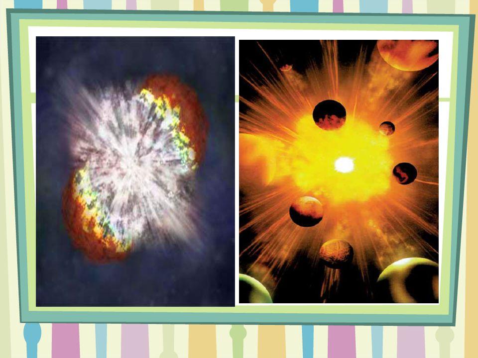 Gaz ve Toz Bulutu: Dünya'mız evren oluştuğunda fırıldak gibi dönen gaz ve toz bulutuydu.