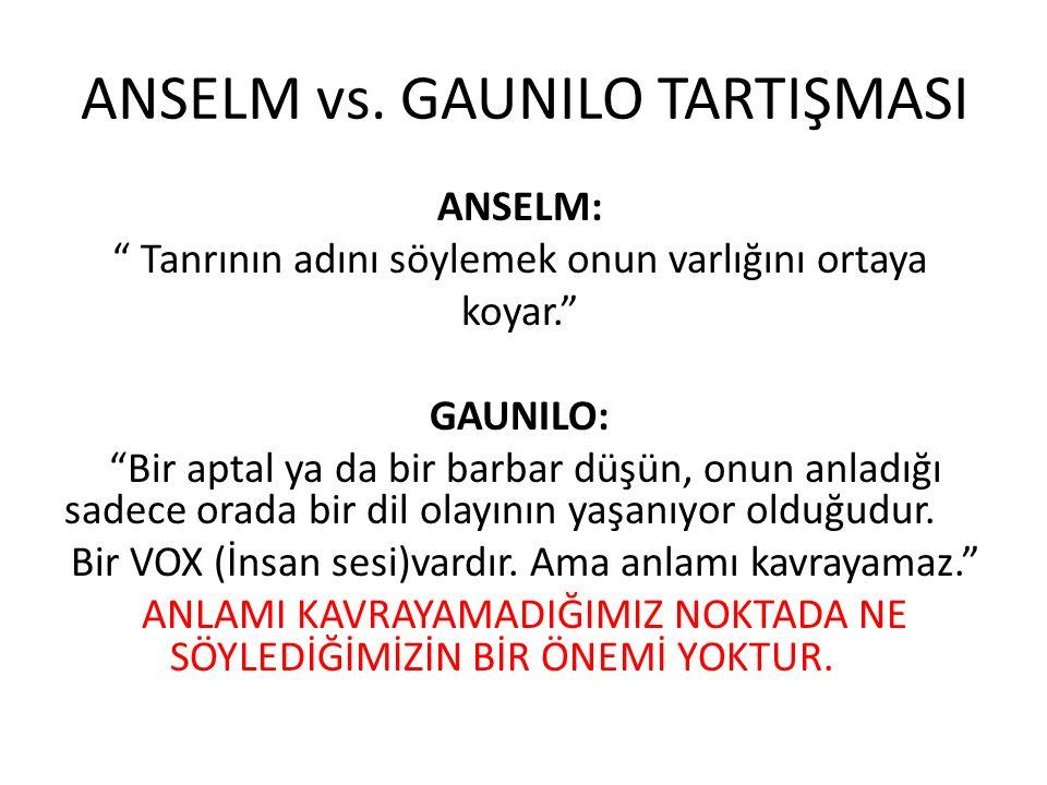 ANSELM vs.